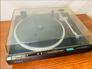 Sony Ps-x600c Turntable Analog Record Player Direct Drive Stereo Full Automatic