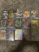 Pokemon Card Lot 114 Official Tcg Cards Ultra Rare Included | Gx Ex Or Mega Ex