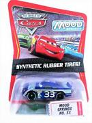 Disney Cars Initial Rubber Tire Mood Springs Limited Edition