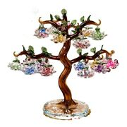 Tree Ornaments Crystal Lotus Miniature Figurines Home Decorations Crafts Gifts