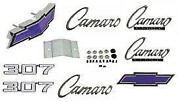 Camaro Emblem Kit For Cars With Standard Trim Non-rally Sport And 307ci 1969