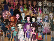 Huge Monster High Loose Parts Misc 30 Doll Lot Retired Used