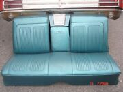 1964 Grand Prix Teal Rear Seats Beautiful Frames And Speaker Assembly No Speaker