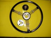 Banjo Style Steering Wheel Complete With Hub Adapter