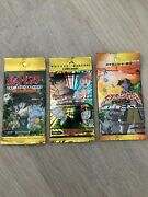 3x New Pokemon Booster Pack Sealed Japan Rare Vintage Neo Jungle Gym Heroes Unwe