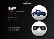 Pipercross Air Filters Pp2074 For Bmw X5 X6 X5m And X6m 2020