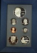 1993-s U.s. Mint Bill Of Rights Prestige Set Gem Proof Coins Silver 1 As Issued