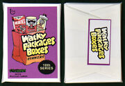 Wacky Packages Boxes 16th Series Unopened Pack