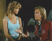 Judson Scott Signed Authentic And039t.j. Hookerand039 8x10 Photo W/coa Tv Show Actor