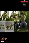 Hot Toys Mms 287 Avengers Age Of Ultron Aou Hulk Deluxe Edition - New