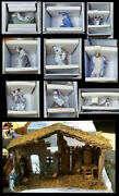 Lladro Complete Nativity Set - With Creche - Retail4500