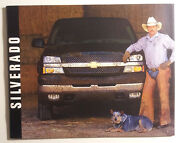 2003 Chevy Silverado Pickup Truck Dealership Brochure - 56 Pages - Must See