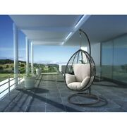 Us Garden Swing Chair With Standandcushion Hanging Chairs Outdoor Indoor Patio