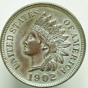1902 Indian Head Small Cent