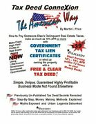 Tax Deed Connexion American Way By Martin Price Brand New