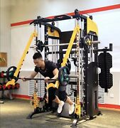 4th Of July Sale Black Xr20 Smith Machines W/jammer Bars