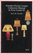 Aladdin Electric Lamps Shades - Types Models Values / Price Guide Book