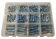 72pc M6 Flange Bolt Kit Essentials For Kawasaki Motorcyles And Atvs