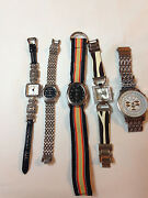 Lot Of 5 Geneva Womens Watch,all In Very Good Condition,need Batterys    T64