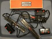 Lot Of 3 Lionel Ucs Remote Controlled Track Sections With Controllers 1 Box