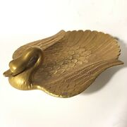 Porcellane D'arte Ermete Agostinelli Italy Wing Swan Soap Dish For Lord And Taylor