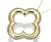 Auth And Necklace Byzantine 18k 750 Yellow Gold