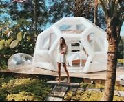 Luxury Geometric Bubble Dome Inflatable Sky Tent Rrp Andpound2199