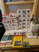 Liberty Falls Americana Collection Mini Houses Lot Of Houses And Accessories