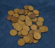 Lot Of 56 1909 Pennies - Free Shipping Usa