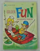 Golden Fun 7 1973 -western Publishing Company- Games / Coloring / Puzzle Book