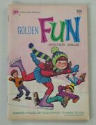 Golden Fun 11 1974-western Publishing Company- Games / Coloring / Puzzle Book