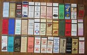 Stamford, Connecticut Lot Of 39 Different Matchbook Matchcovers -e
