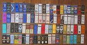 New Haven, Connecticut Lot Of 88 Different Matchbook Matchcovers -e