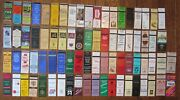 Wilmington, Delaware Lot Of 78 Different Matchbook Matchcovers -e