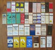 Athens, Georgia Lot Of 38 Different Matchbook Matchcovers -e