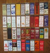 Rockford, Illinois Lot Of 39 Different Matchbook Matchcovers -f