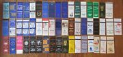 Annapolis, Maryland Lot 52 Different Matchbook Matchcovers -e
