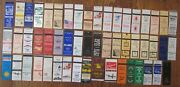 Ocean City, Maryland Lot Of 53 Different Matchbook Matchcovers -e