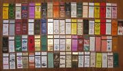 Columbia, Missouri Lot Of 81 Different Matchbook Matchcovers -h