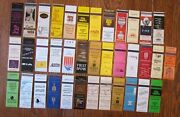 Santa Fe, New Mexico Lot Of 37 Different Matchbook Matchcovers -e