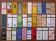 Wilmington, North Carolina Lot Of 32 Different Matchbook Matchcovers -f