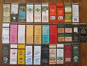 Williamsburg, Virginia Lot Of 31 Different Matchbook Matchcovers -f