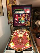 Williams Pinball 1971 Lovebug Very Low Production Add A Ball reserve Lowered
