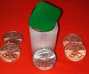 2009-1 Oz American Silver Eagle-lot Roll Of 20- Mint Condition Free Shipping
