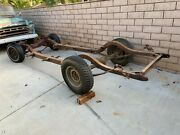 1955 1956 1957 Chevy Frame/chassis Tri Five 55 56 57 Bel Air 150 210 From A 1956