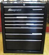 Snap On Kra4008 26 Inch Eight Drawer Single Bank Heritage Series Roll Cab Black