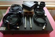 Audio Precision Ats-2 + Aco Pacific Ps9200 And 2 4012/7012 Mic/preamp