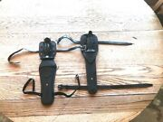 2- Vintage Stainless Steel Dive / Scuba Knives And Sheaths