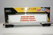 K-line Lionel 6-21469 Ringling Bros Barnum Bailey Circus Flat Car W/ Container