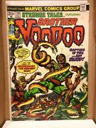 Strange Tales 170 2nd Appearance And Origin Of Brother Voodoo 1973 Marvel Comics